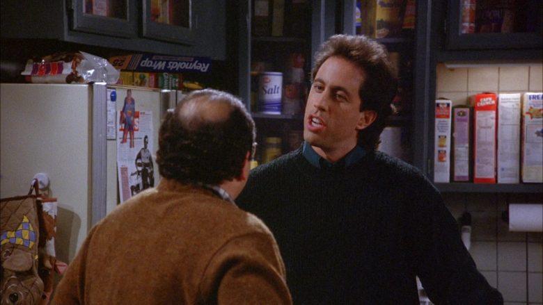 Reynolds Wrap in Seinfeld Season 6 Episode 9 The Secretary