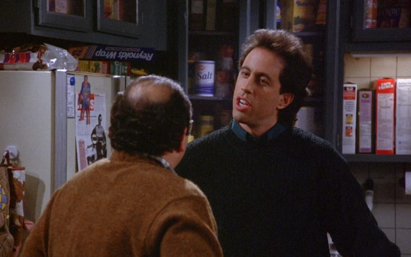 Reynolds Wrap in Seinfeld Season 6 Episode 9 The Secretary