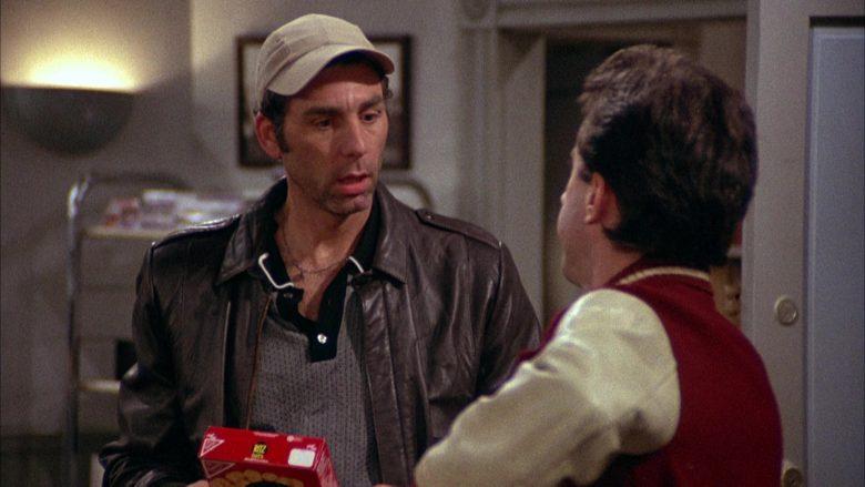 Ritz Bits Held by Michael Richards as Cosmo Kramer in Seinfeld Season 2 Episode 3 (3)
