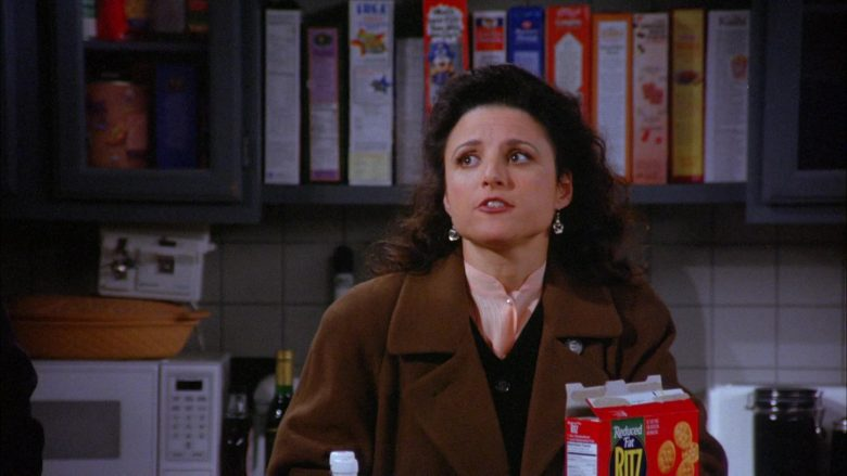 Ritz Crackers in Seinfeld Season 6 Episode 13 The Scofflaw (2)