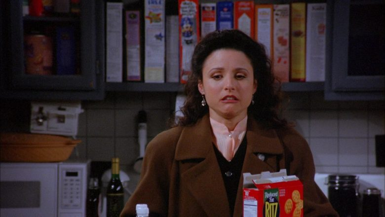 Ritz Crackers in Seinfeld Season 6 Episode 13 The Scofflaw (3)