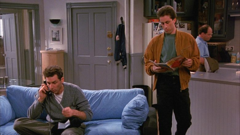 Road & Track Magazine Held by Jerry Seinfeld in Seinfeld Season 1 Episode 4 (1)