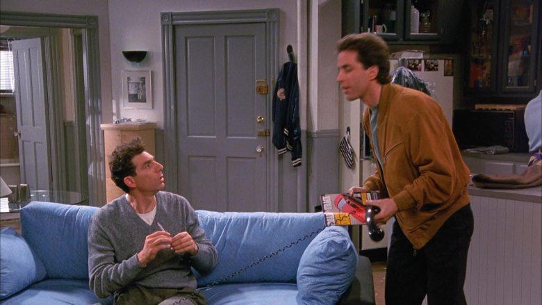 Road & Track Magazine Held by Jerry Seinfeld in Seinfeld Season 1 Episode 4 (4)