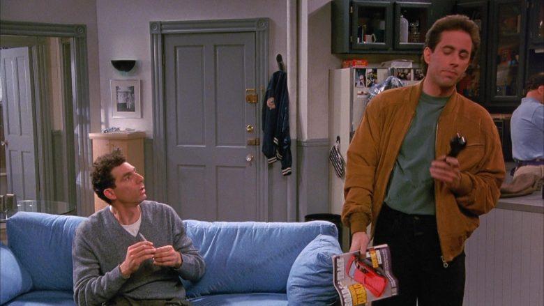 Road & Track Magazine Held by Jerry Seinfeld in Seinfeld Season 1 Episode 4 (5)