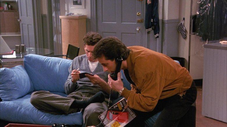 Road & Track Magazine Held by Jerry Seinfeld in Seinfeld Season 1 Episode 4 (6)