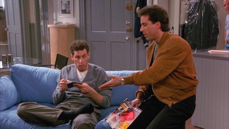 Road & Track Magazine Held by Jerry Seinfeld in Seinfeld Season 1 Episode 4 (7)