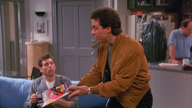 Road & Track Magazine Held by Jerry Seinfeld in Seinfeld Season 1 Episode 4 (8)