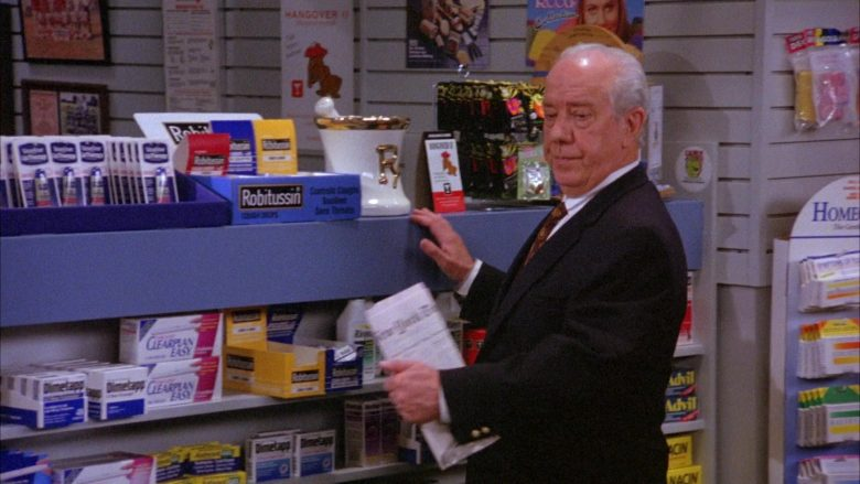 Robitussin in Seinfeld Season 6 Episode 22 The Diplomat's Club
