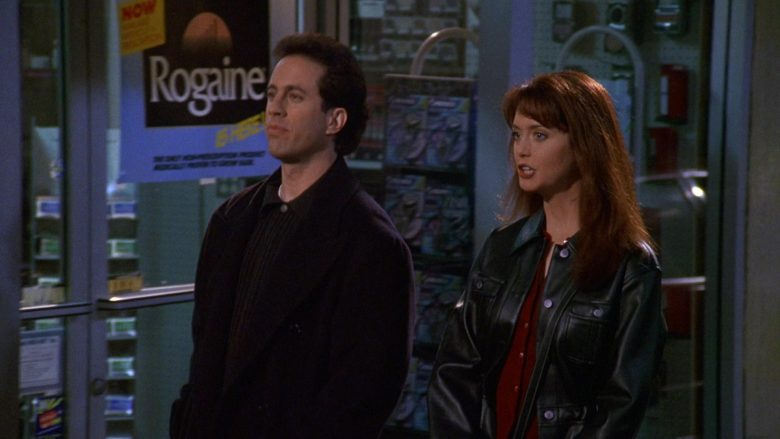 Rogaine in Seinfeld Season 9 Episode 18 The Frogger