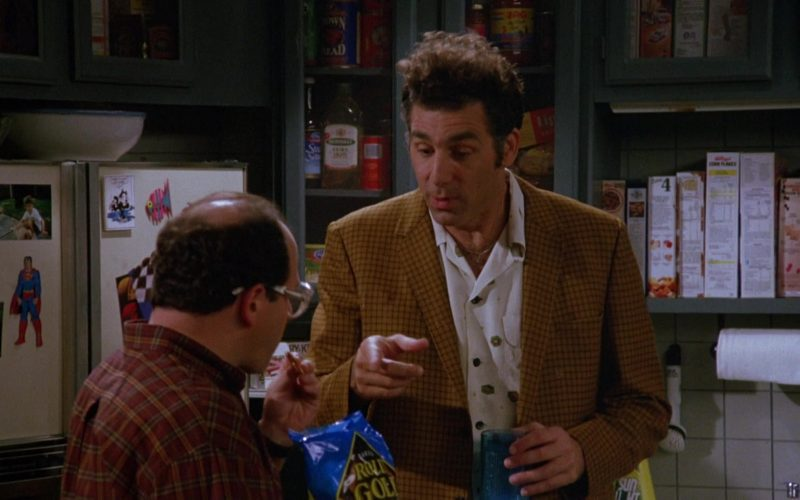 Rold Gold Pretzels Enjoyed by Jason Alexander as George Costanza in Seinfeld Season 5 Episode 3 (1)