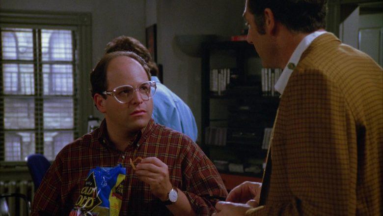 Rold Gold Pretzels Enjoyed by Jason Alexander as George Costanza in Seinfeld Season 5 Episode 3 (2)