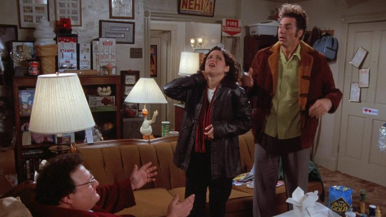 Rold Gold Pretzels in Seinfeld Season 7 Episode 13 The Seven
