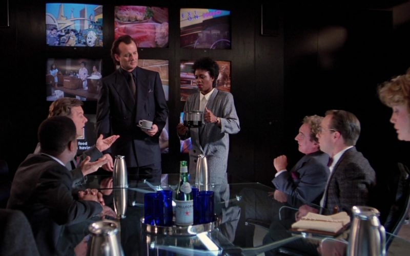 S.Pellegrino Mineral Water in Scrooged (3)