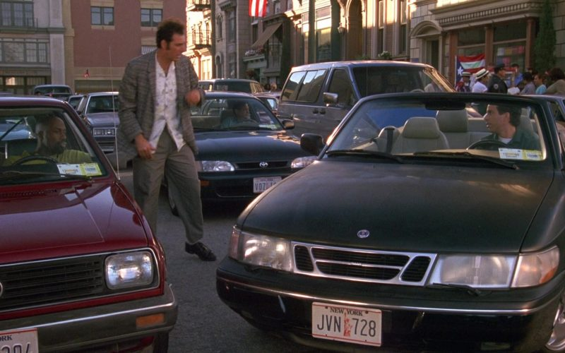 SAAB 900 Cabrio SE Generation 2 Car Used by Jerry Seinfeld in Seinfeld Season 9 Episode 20 The Puerto Rican Day (1)
