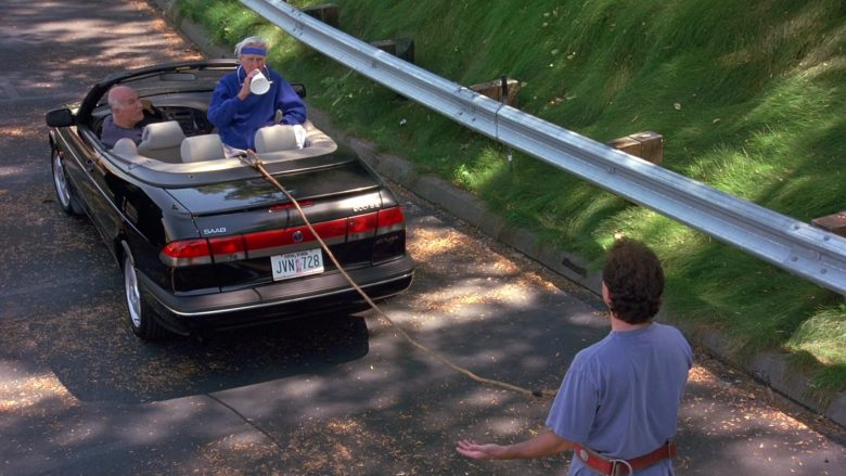 Saab Convertible Car in Seinfeld Season 9 Episode 4 The Blood