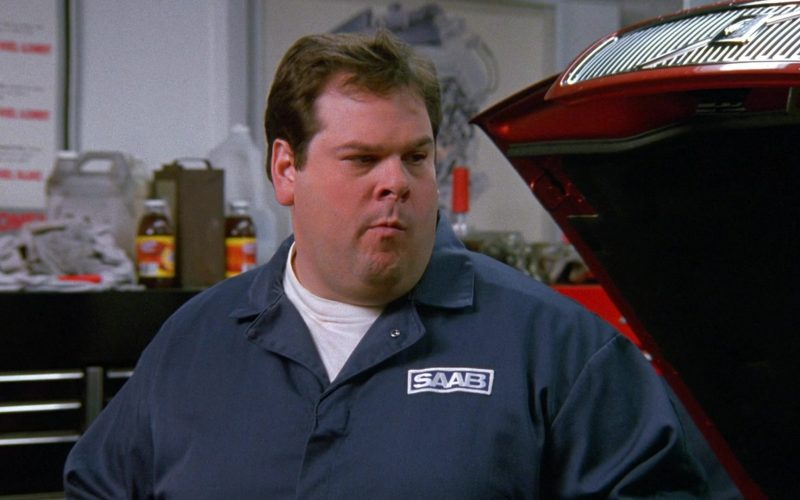 Saab Worker in Seinfeld Season 9 Episode 11 The Dealership (1)