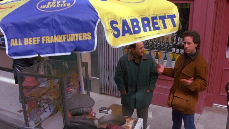 Sabrett Hot Dogs in Seinfeld Season 6 Episode 12 The Label Maker