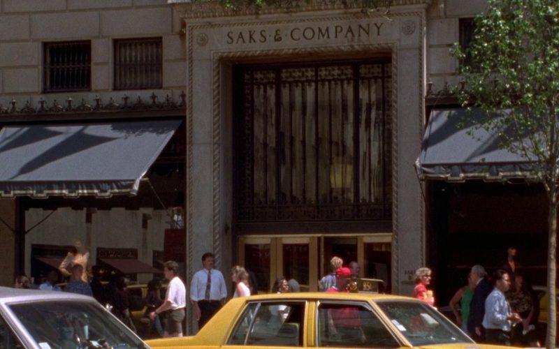 Saks & Company Store in Seinfeld Season 8 Episode 7 The Checks