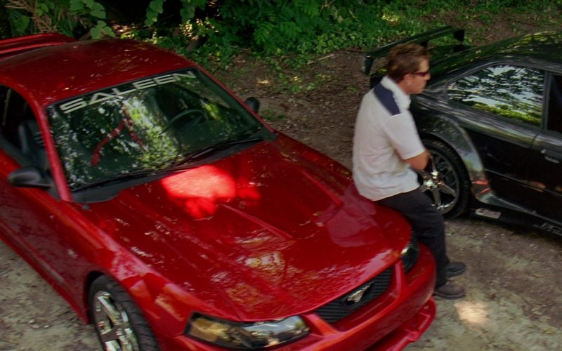 Saleen x Ford Mustang S281 Red Car in 2 Fast 2 Furious (2)