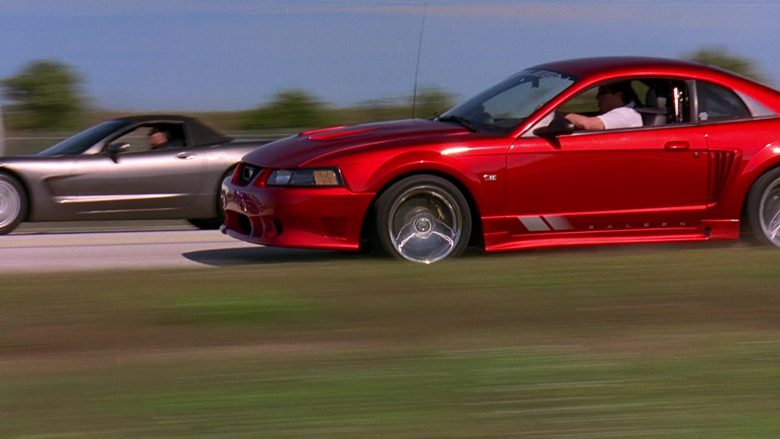Saleen x Ford Mustang S281 Red Car in 2 Fast 2 Furious (3)