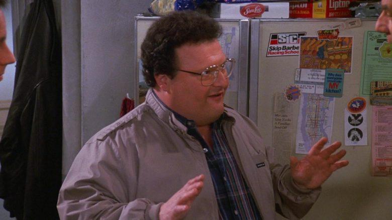 Sara Lee, Lipton, Skip Barber Racing School in Seinfeld Season 9 Episode 17 The Bookstore