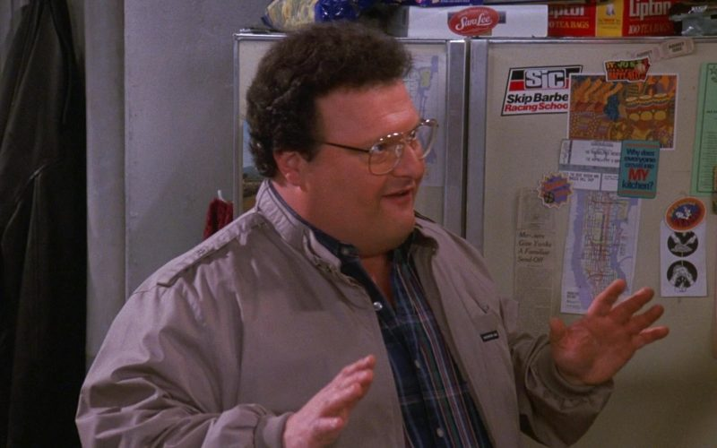 Sara Lee, Lipton, Skip Barber Racing School in Seinfeld Season 9 Episode 17 The Bookstore
