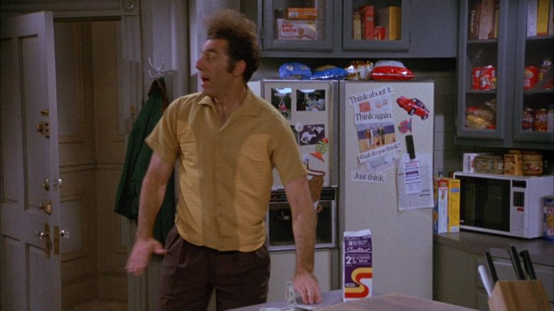 Sealtest Low Fat Milk in Seinfeld Season 4 Episode 11 The Contest (1)