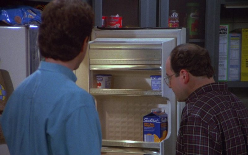 Sealtest Orange Juice in Seinfeld Season 4 Episode 10 The Virgin