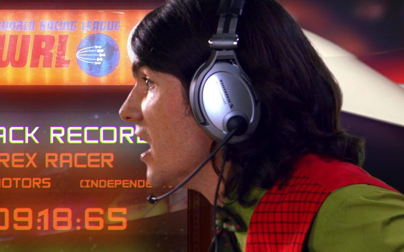 Sennheiser Headsets in Speed Racer (1)