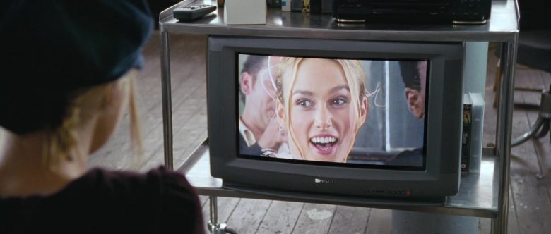 Sharp TV in Love, Actually (1)