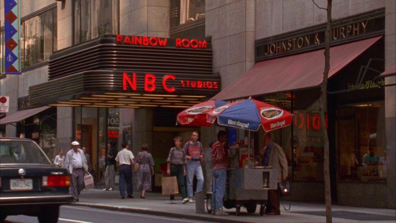 Shofar Kosher Hot Dogs and NBC Studios in Seinfeld Season 5 Episode 2 The Puffy Shirt (1)