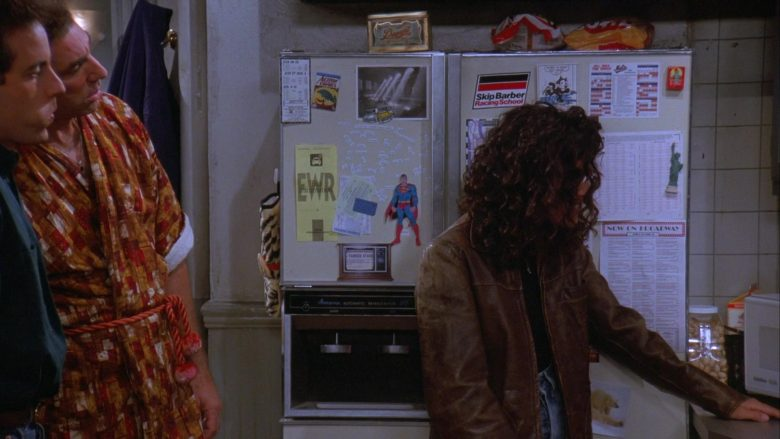 Skip Barber Racing School Sticker in Seinfeld Season 7 Episode 5 The Hot Tub (2)