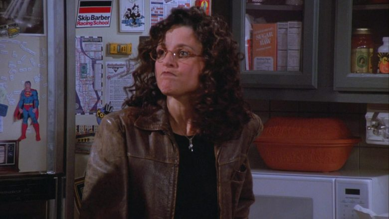 Skip Barber Racing School Sticker in Seinfeld Season 7 Episode 5 The Hot Tub (3)