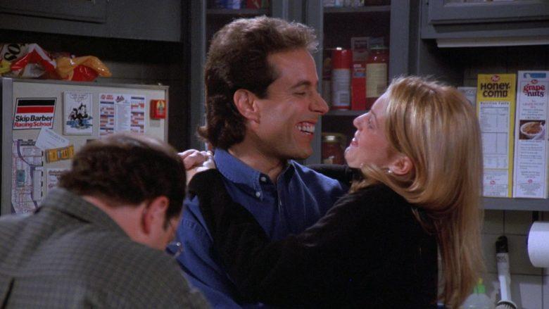 Skip Barber Racing School Sticker in Seinfeld Season 7 Episode 6 The Soup Nazi