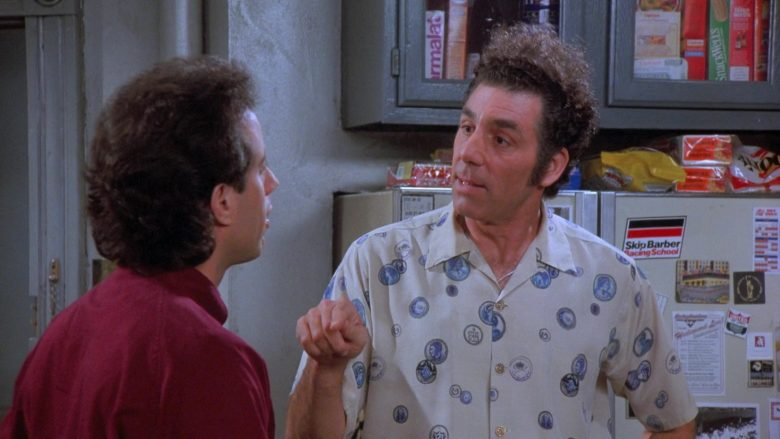 Skip Barber Racing School in Seinfeld Season 7 Episode 18 The Friars Club