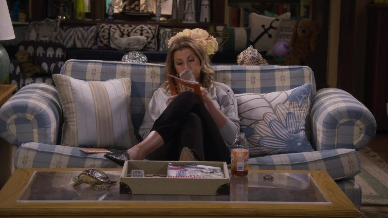 "Snapple Drink in Fuller House Season 5 Episode 8 ""Five Dates with Kimmy Gibbler"" (2019) - TV Show Product Placement"
