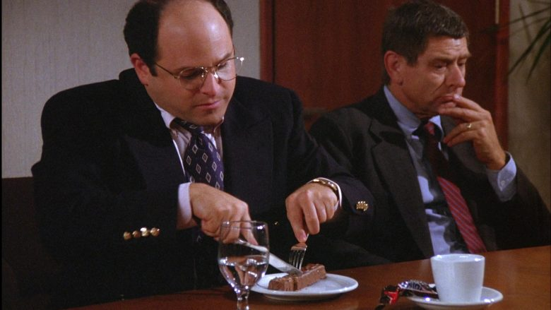 Snickers Chocolate Bar Enjoyed by Jason Alexander as George Costanza in Seinfeld Season 6 Episode 3 (2)