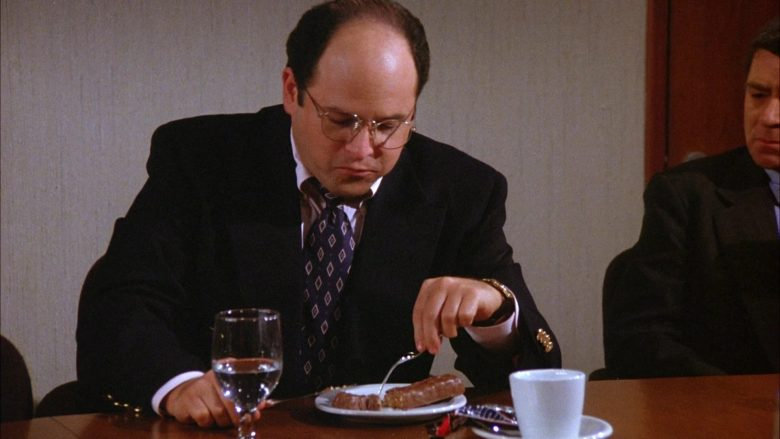 Snickers Chocolate Bar Enjoyed by Jason Alexander as George Costanza in Seinfeld Season 6 Episode 3 (4)