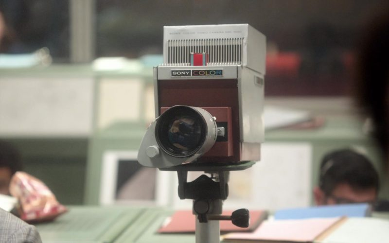 Sony Color Video Camera in For All Mankind Season 1 Episode 10 A City Upon a Hill