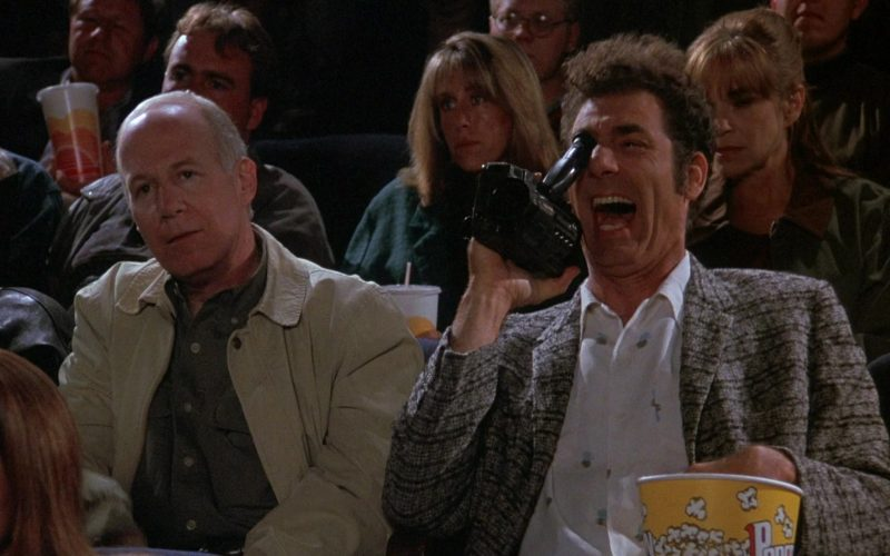 Sony Handycam Video Camera in Seinfeld Season 8 Episode 4 The Little Kicks (3)