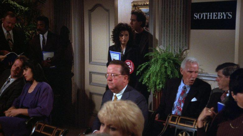 Sotheby's in Seinfeld Season 7 Episode 21-22 The Bottle Deposit (2)