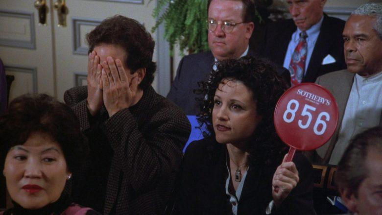 Sotheby's in Seinfeld Season 7 Episode 21-22 The Bottle Deposit (6)