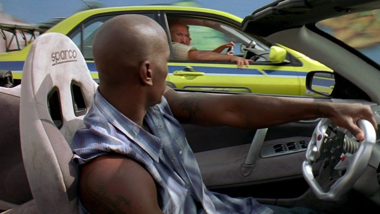 Sparco Car Seats Used by Tyrese Gibson in 2 Fast 2 Furious (4)
