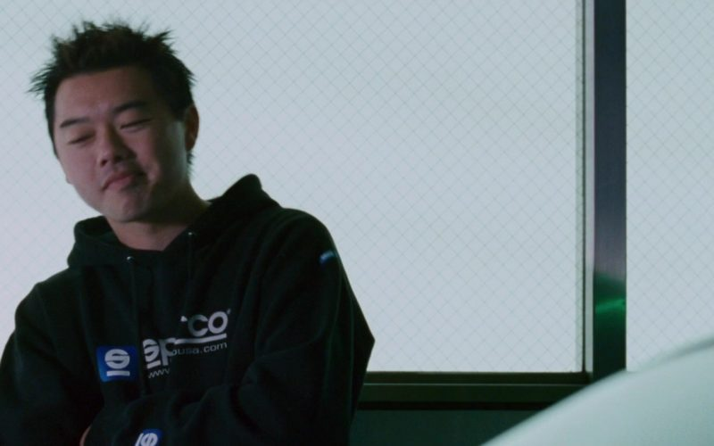 Sparco Hoodie in The Fast and the Furious Tokyo Drift (1)