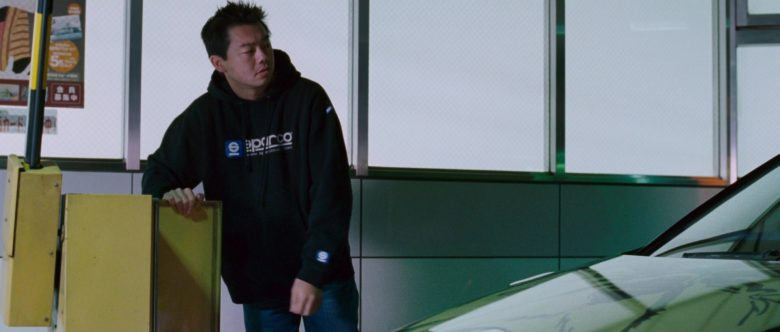 Sparco Hoodie in The Fast and the Furious Tokyo Drift (2)