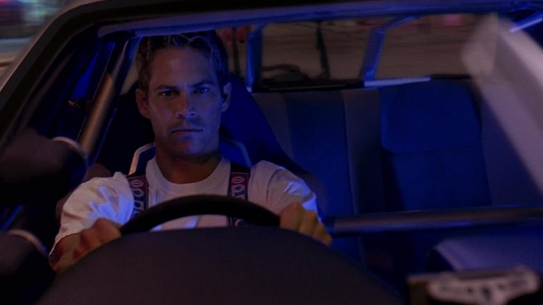 Sparco Racing Car Belts Used by Paul Walker as Brian O'Conner in 2 Fast 2 Furious