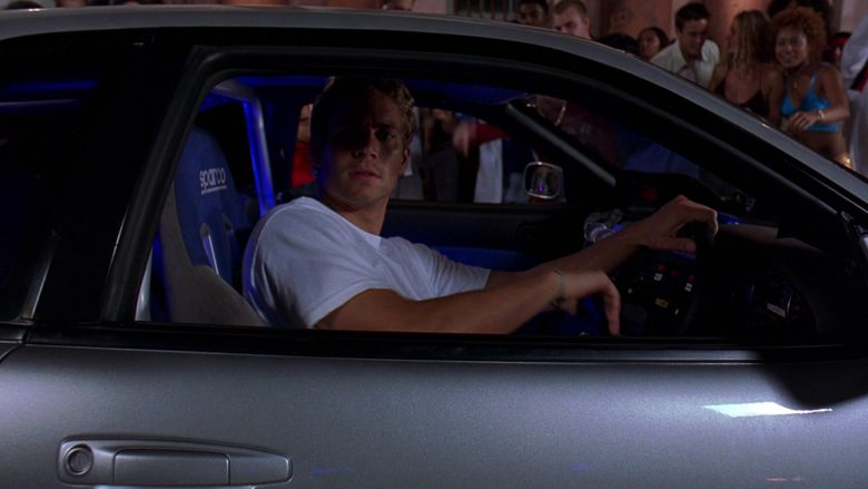Sparco Racing Car Seats Used by Paul Walker as Brian O'Conner in 2 Fast 2 Furious (1)