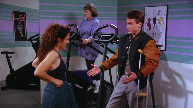 StairMaster Bike in Seinfeld Season 6 Episode 19 The Jimmy (5)