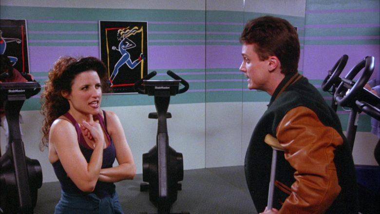 StairMaster Bike in Seinfeld Season 6 Episode 19 The Jimmy (6)