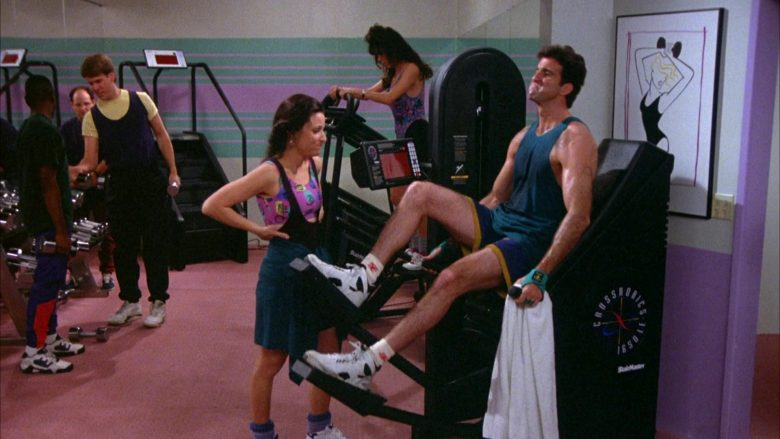 StairMaster CrossRobics in Seinfeld Season 5 Episode 17 The Wife (1)